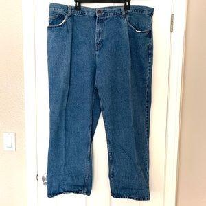Faded Glory Vintage Blue Jeans Straight Leg 46/30